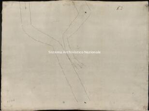 Archivio di Stato di Genova, Du pont d'Organasca aux trois premiers picquetes vers Torriglia, Segnatura: 1/Tavola 2