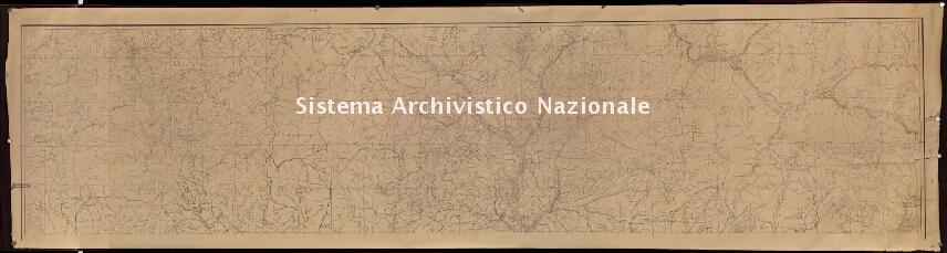 Archivio di Stato di Genova, Carta topografica di parte della Provincia di Genova, Segnatura: 10
