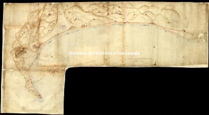 Archivio di Stato di Genova, Disegno del golfo di Vado, Segnatura: 19