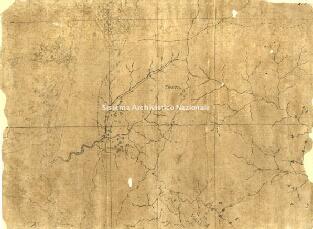 Archivio di Stato di Genova, Abbozzo topografico contenente parte della Riviera di Ponente di Genova da Noli ad Albissola indi sino al confine col Piemonte, con altri tre fogli contenenti abbozzi di parte della stessa, Segnatura: 11