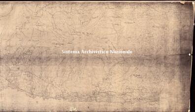 Archivio di Stato di Genova, Planimetria di GenovaParte verso il mare, recante le indicazioni dei ricoveri anti aerei pubblici, Segnatura: 13