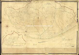 Archivio di Stato di Genova, Section F de S.ta Croce faite à l'echelle d'un à 2500 par Mongiardini Louis Géomètre 2re. Terminé sur le terrain le 1r Juillet 1812, Segnatura: 6/Ameglia
