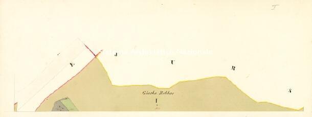 Archivio di Stato di Trieste, Mappa catastale del Comune di Baccia del Nevoso foglio III, sezione III, Segnatura: 20 b 03