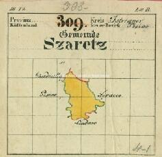 Archivio di Stato di Trieste, Mappa catastale del Comune di Sarezzo foglio III, sezione III, Segnatura: 467 b 03