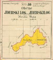 Archivio di Stato di Trieste, Mappa catastale del Comune di Loga d'Idria foglio II, sezioni 2, ad 2 e ad 3, Segnatura: 257 c 02