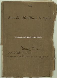 Archivio di Stato della Spezia, Prefettura, Affari generali, Perizie d'Esproprio del Genio militare, Perizia n. 1- Mori Nicola fu Nicola, b. 1 fasc. 1, 46 pp.