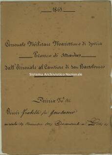 Archivio di Stato della Spezia, Prefettura, Affari generali, Perizie d'Esproprio del Genio militare, Perizia n. 186 - Ricci f.lli fu Gerolamo, b. 9 fasc. 48, 18 pp.