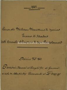 Archivio di Stato della Spezia, Prefettura, Affari generali, Perizie d'Esproprio del Genio militare, Perizia n. 180 - Ponzoni Vincenzo ed Angelo f.lli di Giacomo, b. 9 fasc. 42, 18 pp.
