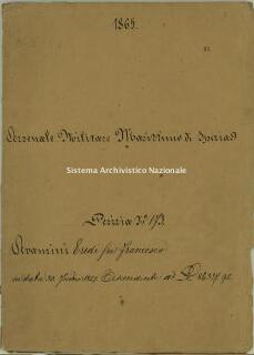 Archivio di Stato della Spezia, Prefettura, Affari generali, Perizie d'Esproprio del Genio militare, Perizia n. 173 - Avanzini eredi fu Francesco, b. 9 fasc. 36, 40 pp.