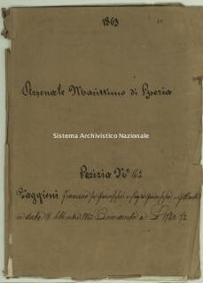 Archivio di Stato della Spezia, Prefettura, Affari generali, Perizie d'Esproprio del Genio militare, Perizia n. 142 - Faggioni Francesco fu Giuseppe e figli, b. 7 fasc. 12, 46 pp.