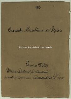 Archivio di Stato della Spezia, Prefettura, Affari generali, Perizie d'Esproprio del Genio militare, Perizia n. 137 - Pellizza Antonio fu Domenico, b. 7 fasc. 7, 14 pp.