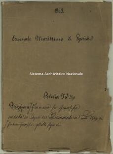 Archivio di Stato della Spezia, Prefettura, Affari generali, Perizie d'Esproprio del Genio militare, Perizia n. 139 - Faggioni Francesco fu Giuseppe, b. 7 fasc. 9, 86 pp.