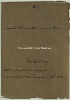 Archivio di Stato della Spezia, Prefettura, Affari generali, Perizie d'Esproprio del Genio militare, Perizia n. 150 - Parollo Gregorio fu Antonio, b. 7 fasc. 20, 86 pp.