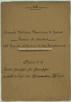 Archivio di Stato della Spezia, Prefettura, Affari generali, Perizie d'Esproprio del Genio militare, Perizia n. 178 - Cerretti Giuseppe fu Giuseppe, b. 10 fasc. 7, 14 pp.