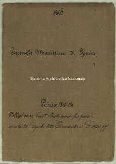 Archivio di Stato della Spezia, Prefettura, Affari generali, Perizie d'Esproprio del Genio militare, Perizia n. 135 - Della Torre cav.re Bartolomeo, b. 7 fasc. 5, 30 pp.