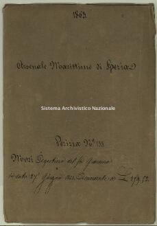 Archivio di Stato della Spezia, Prefettura, Affari generali, Perizie d'Esproprio del Genio militare, Perizia n. 133 - Mori Agostino del fu Giacomo, b. 7 fasc. 3, 42 pp.